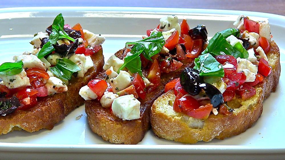 Caprese Bruschetta Recipes — Dishmaps