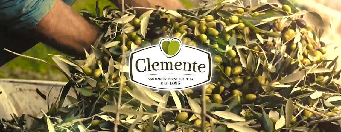 Nuovo Spot video Olio Clemente su Mediaset Testata