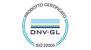 Certificazione di rintraccibilità di filiera agroalimentare (DNV)