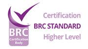 BRC Standard – Higher Level