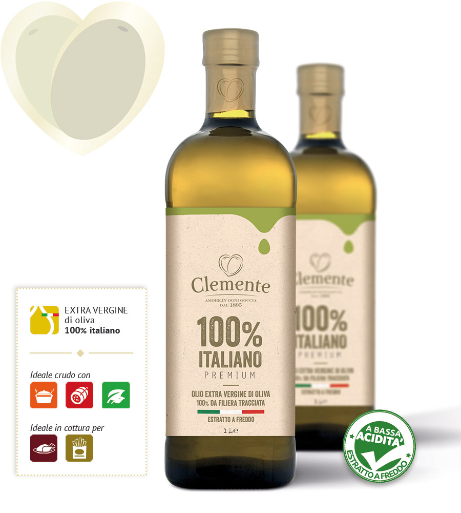 Clemente 100% Italiano Selezione Premium Lt.1